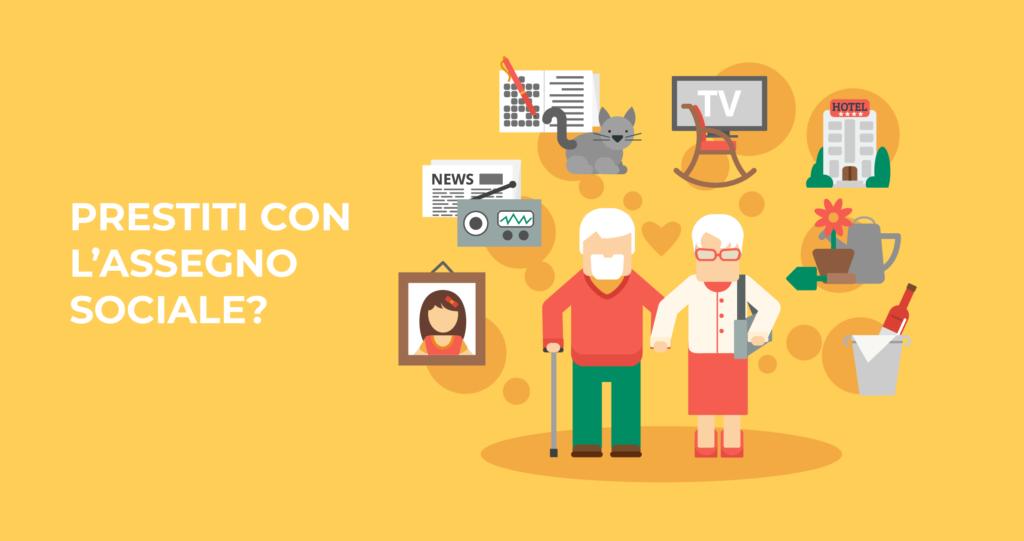 è possibile richiedere prestiti prestiti pensionati con assegno sociale