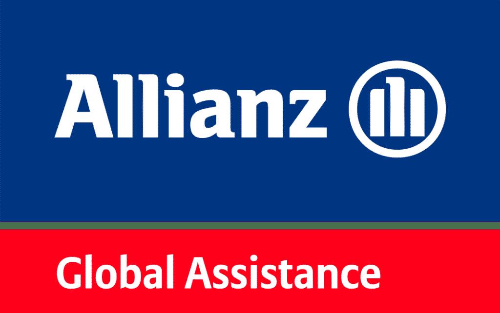 Allianz Global Assistance assicurazione viaggi, beni, e assistenza alle persone logo.