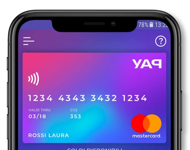 Paga e fatti pagare dagli amici con la carta virtuale yap